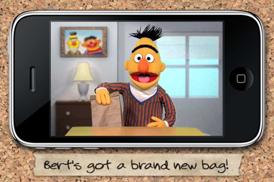 Screenshot Bert's Bag